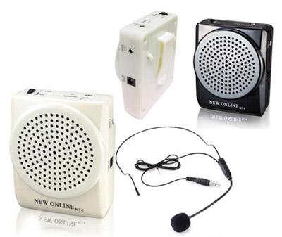 goyona amplificateur de voix portable avec micro cravate. Black Bedroom Furniture Sets. Home Design Ideas
