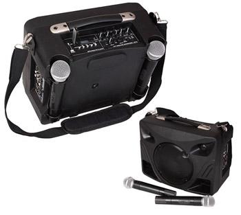 enceinte sono 180w portable sur batterie avec micro sans fil